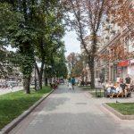 Khreshchatyk in the summer