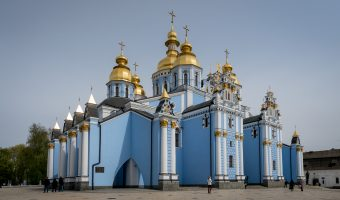 Cathedral at St Michael's Golden-Domed Monastery in Kiev