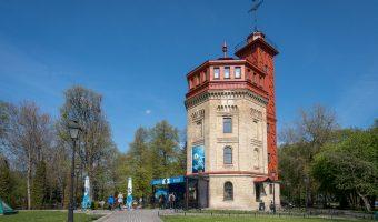 The Water Information Centre (Water Museum) in Khreshchatyk Park, Kiev.