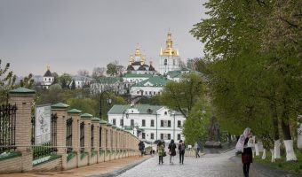 View of the Lower Lavra at Kiev Pechersk Lavra