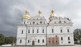 Dormition Cathedral at Kiev Pechersk Lavra (Caves Monastery)