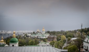 View of Lower Lavra and Dnieper River