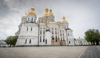 Dormition Cathedral at the Caves Monastery in Kiev, Ukraine