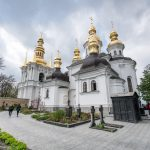Bell Tower of the Far Caves and Church of the Nativity of the Virgin, Caves Monastery, Kiev