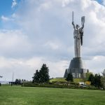 Motherland Monument (Rodina Mat) at National Museum Of The History Of Ukraine In The Second World War
