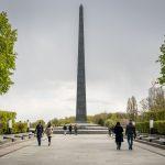 Tomb of the Unknown Soldier in Kiev, Ukraine