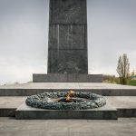 Eternal Flame at the Tomb of the Unknown Soldier in the Park of Eternal Glory, Kiev