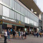 Khreshchatyk Metro Station in Kiev, Ukraine