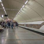 Photo of Zhytomyrska Metro Station in Kiev.