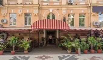 Osteria Pantagruel Italian restaurant in Kiev, Ukraine
