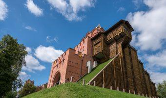 Golden Gates in Kiev, Ukraine
