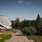 Greenhouse at the National Botanical Garden in Kiev, Ukraine