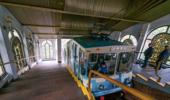 Kiev Funicular Upper Station