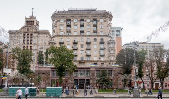 Vsi Svoi is a store on Khreshchatyk selling Ukrainian-made clothes and products.