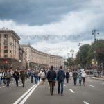 Khreshchatyk on Independence Day