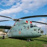 Mil Mi-6A Soviet heavy transport helicopter at the Ukraine State Aviation Museum in Kiev.