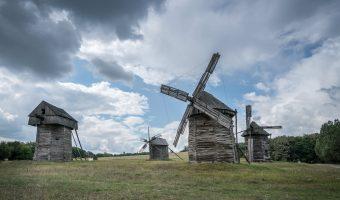 Windmills at Pyrohiv