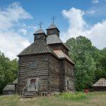 18th century wooden church from Rivne region of Ukraine