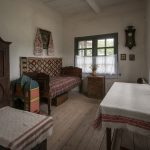 Teacher's room from village school in Cherkasy region of Ukraine. Situated at Pyrohiv.