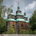 Village church from Cherkasy region of Ukraine. Situated at Pyrohiv.